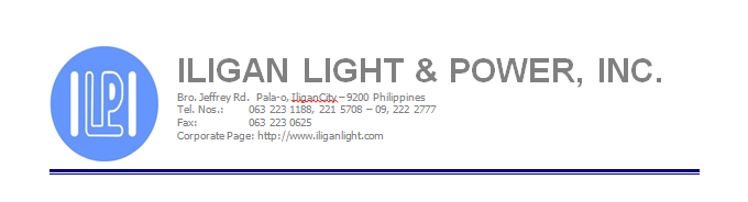 In The Event That The National Grid Corporation Of The Philippines (NGCP)  Will Require Us To Implement The Mandatory Power Curtailment This Week, ...